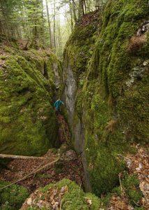 Canyon des Sayottes, vers Valoreille (1)