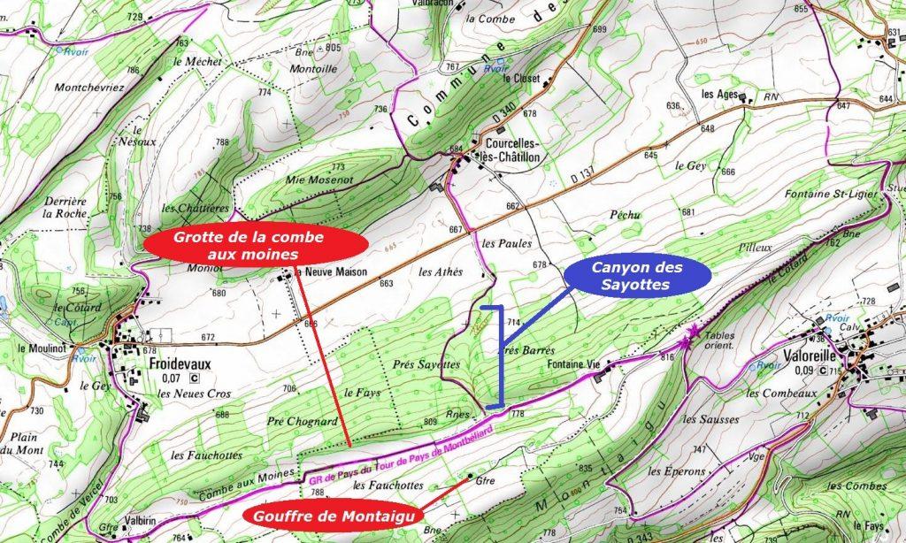 Canyon des Sayottes, vers Valoreille - Copie