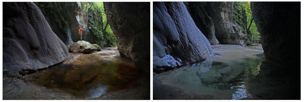 La grande lessive au canyon d'Amondans (1)
